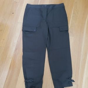 Nordstrom signature cargo cropped pants 10